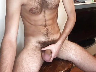 20yo hairy russian boy Marcus with another cumshot