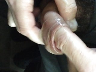 Big Uncut Foreskin Cum Office Masturbation