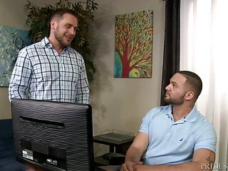 MenOver30 Hairy Euro Daddy Connects With Hunk Latino